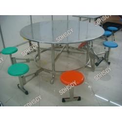 八人折叠式大圆桌