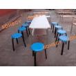 分体简约十人座食堂餐桌椅