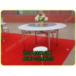 8人分体式挂凳圆桌椅