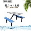 【用心做品质,走出自己的一片天】鸿盛集团专业生产不锈钢餐桌椅快餐桌椅员工餐桌椅
